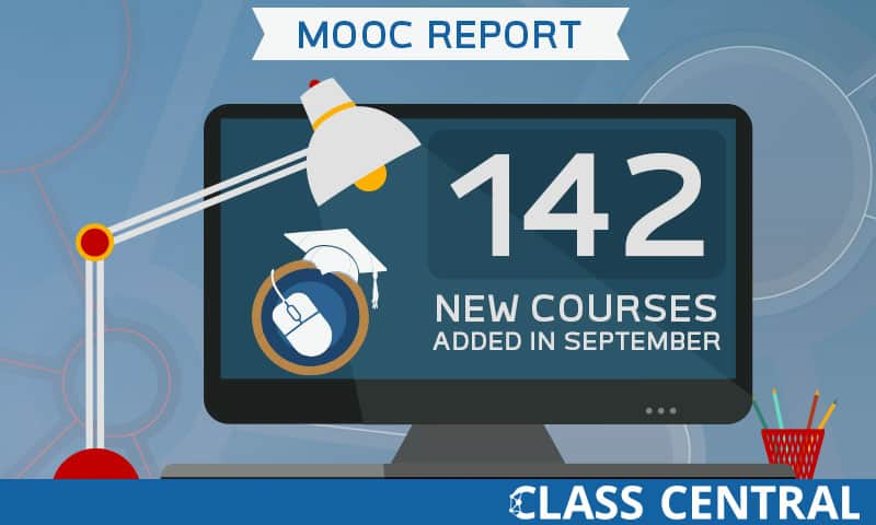 New MOOCs added in September