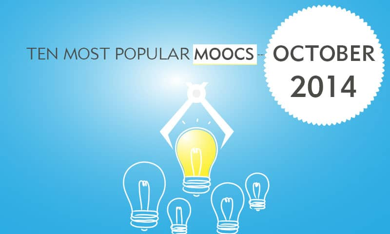 Ten Most Popular MOOCS October