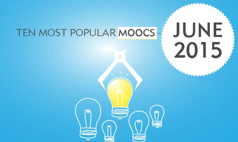 Ten Most Popular Courses - June 2015