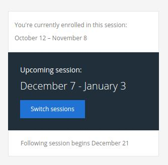 Coursera Switch Sessions