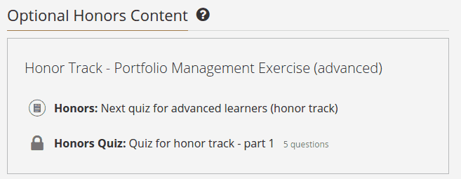 Coursera Honor Code - Syllabus