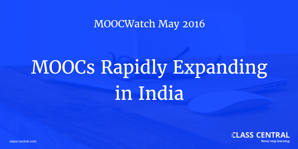 MOOCWatch May 2016