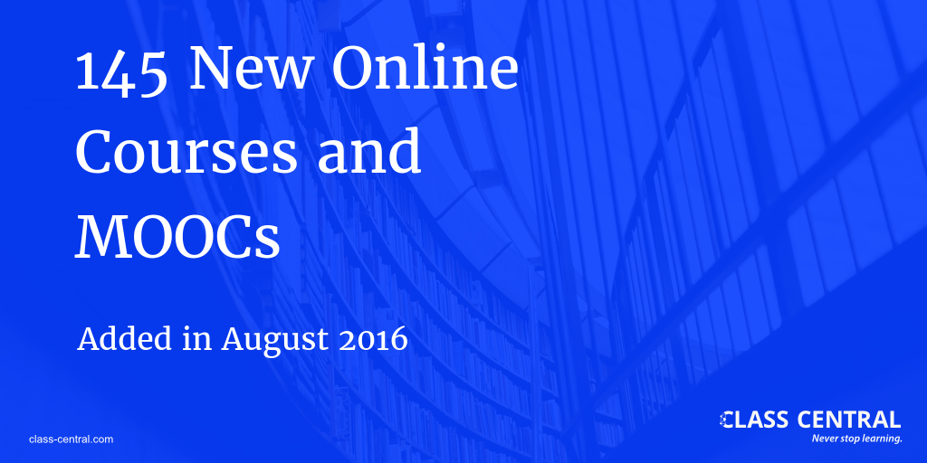 new-online-courses-august-2016