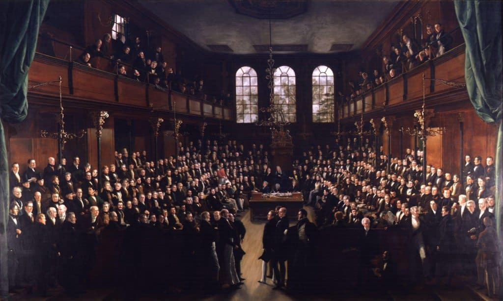 The_House_of_Commons,_1833_by_Sir_George_Hayter