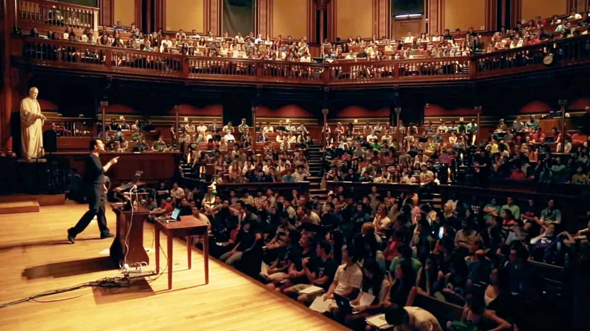 Get A Front Row Seat In Harvard's Largest Class With The Magic of