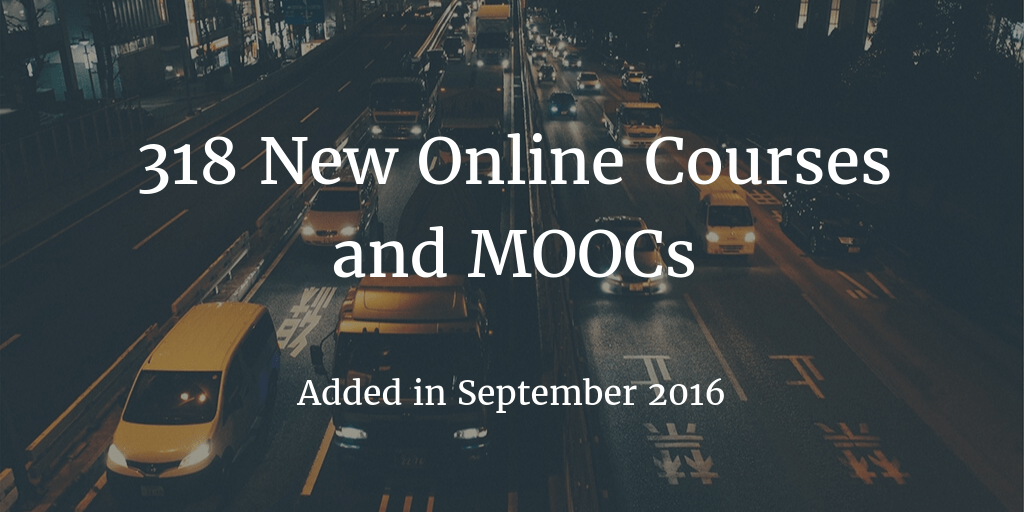 new-online-courses-september-2016