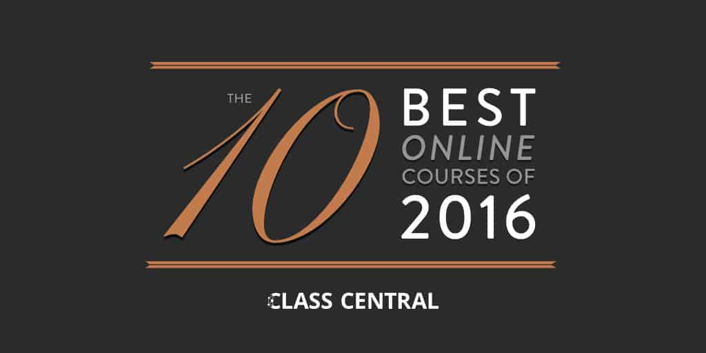 10 Best Online Courses of 2016