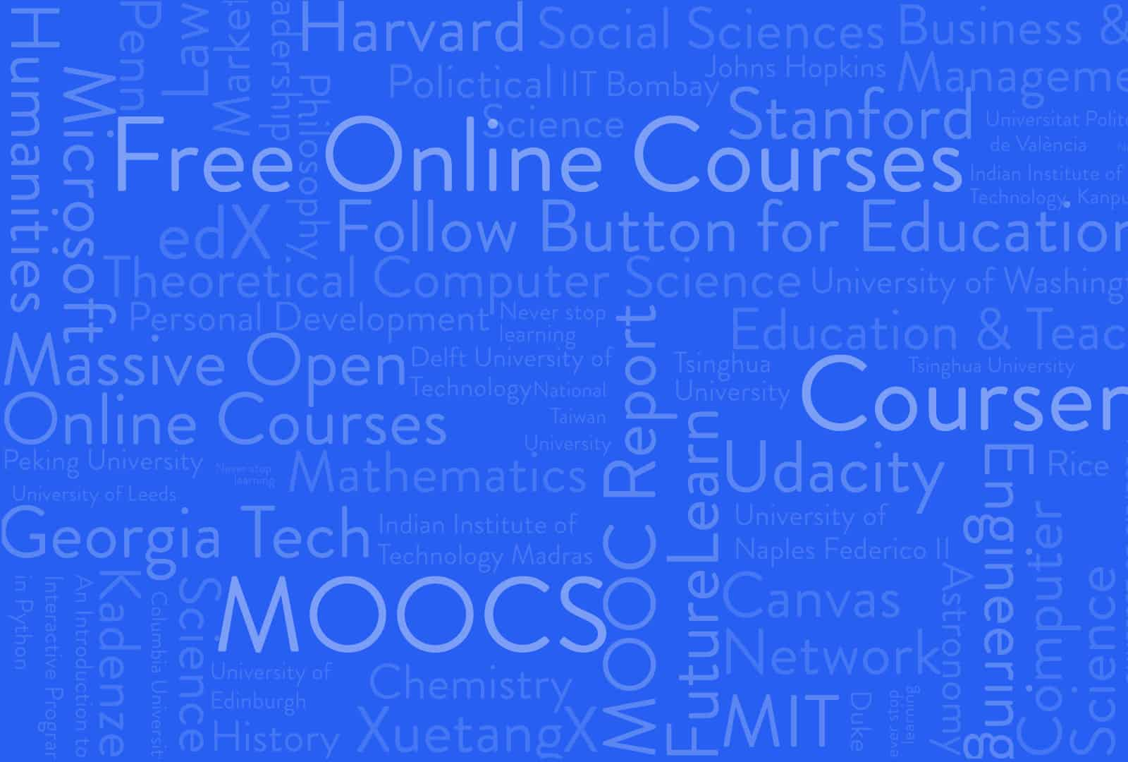 190 universities just launched 600 free online courses. Here's the full  list. — Class Central