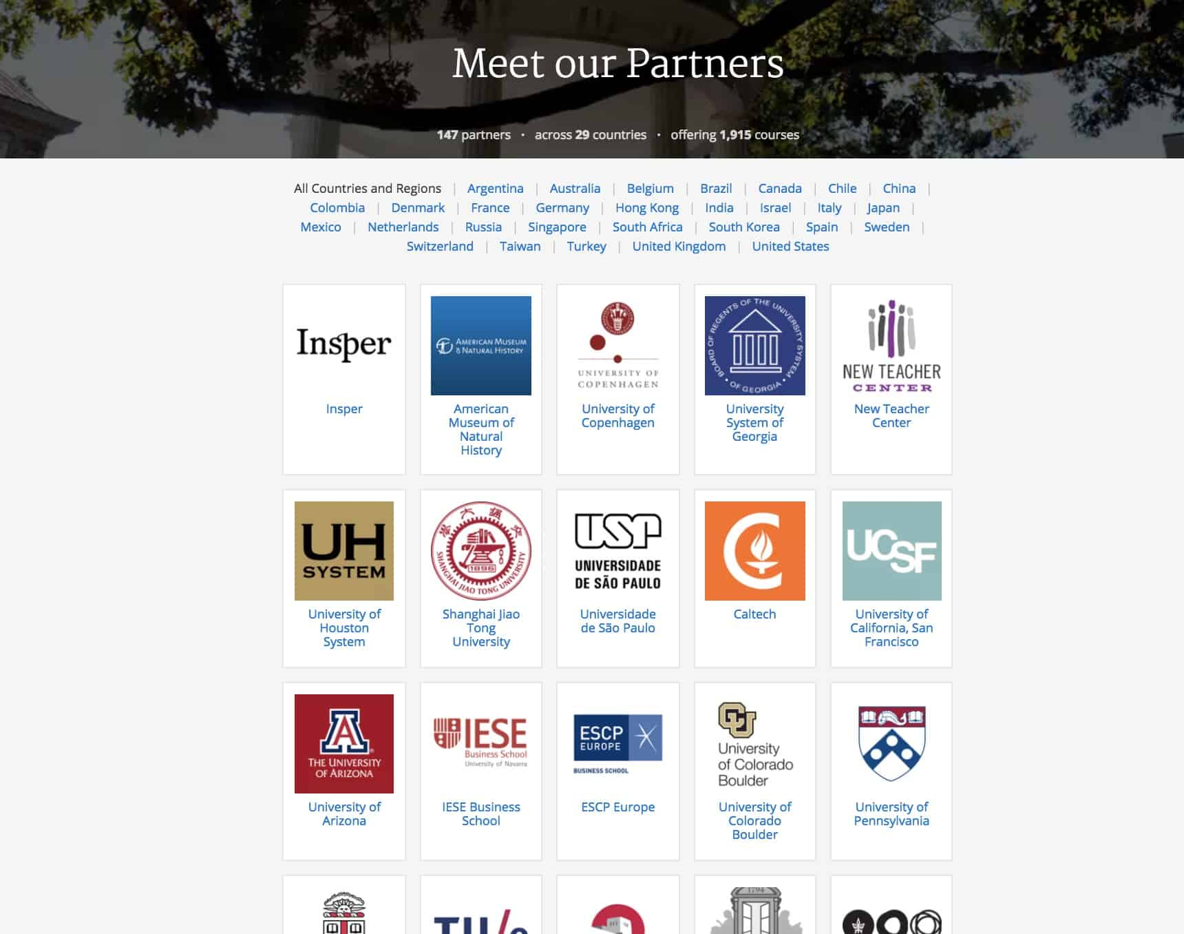 Coursera - Meet our Partners