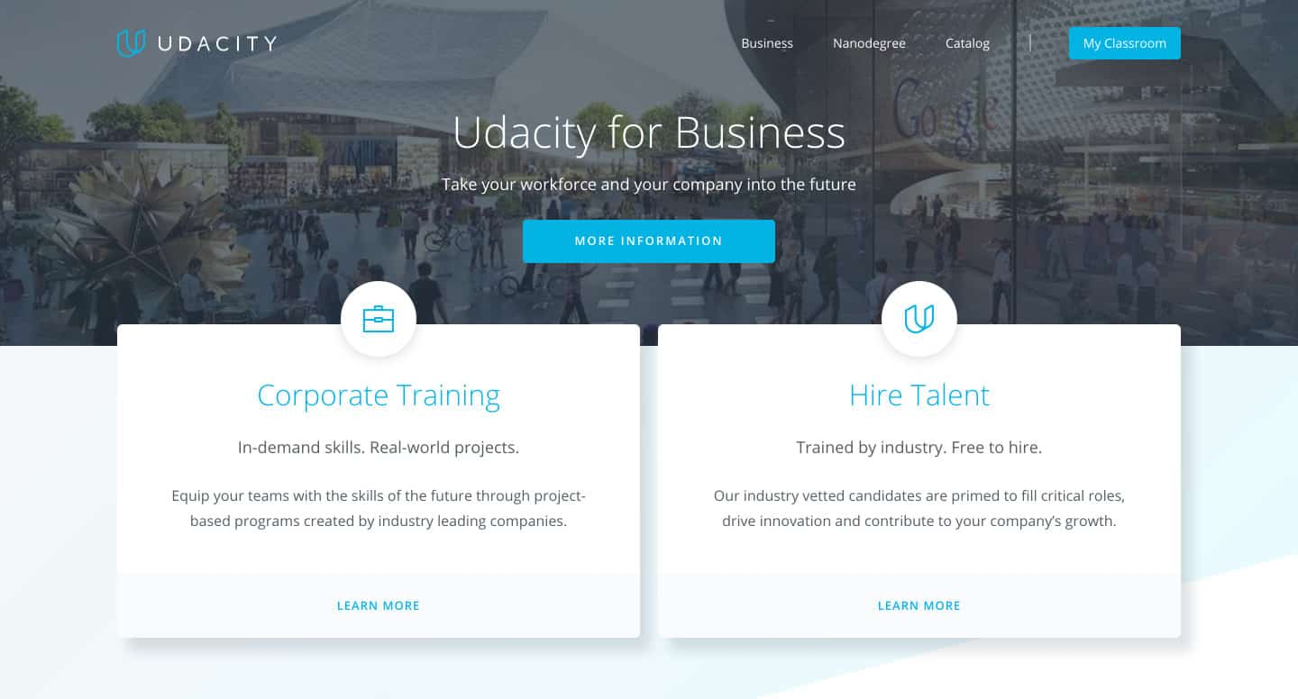 Udacity for Business