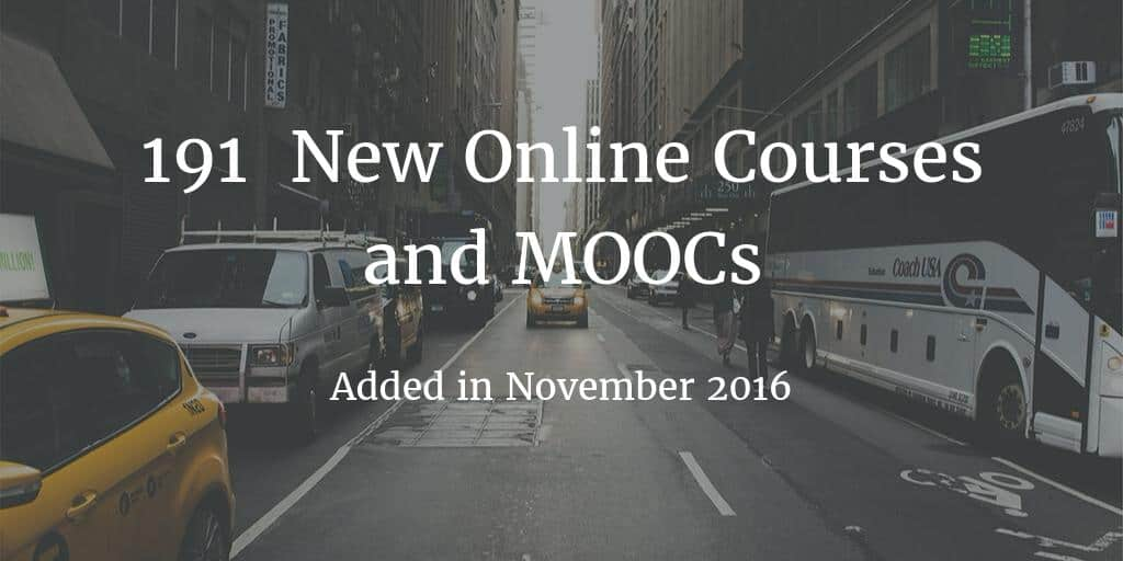 new-online-courses-november-2016