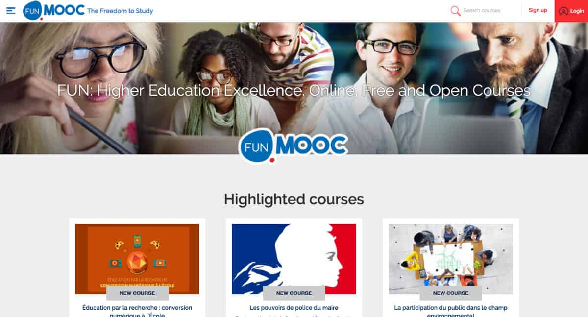 France Universit Numrique Meet The Mooc Platform Funded By The