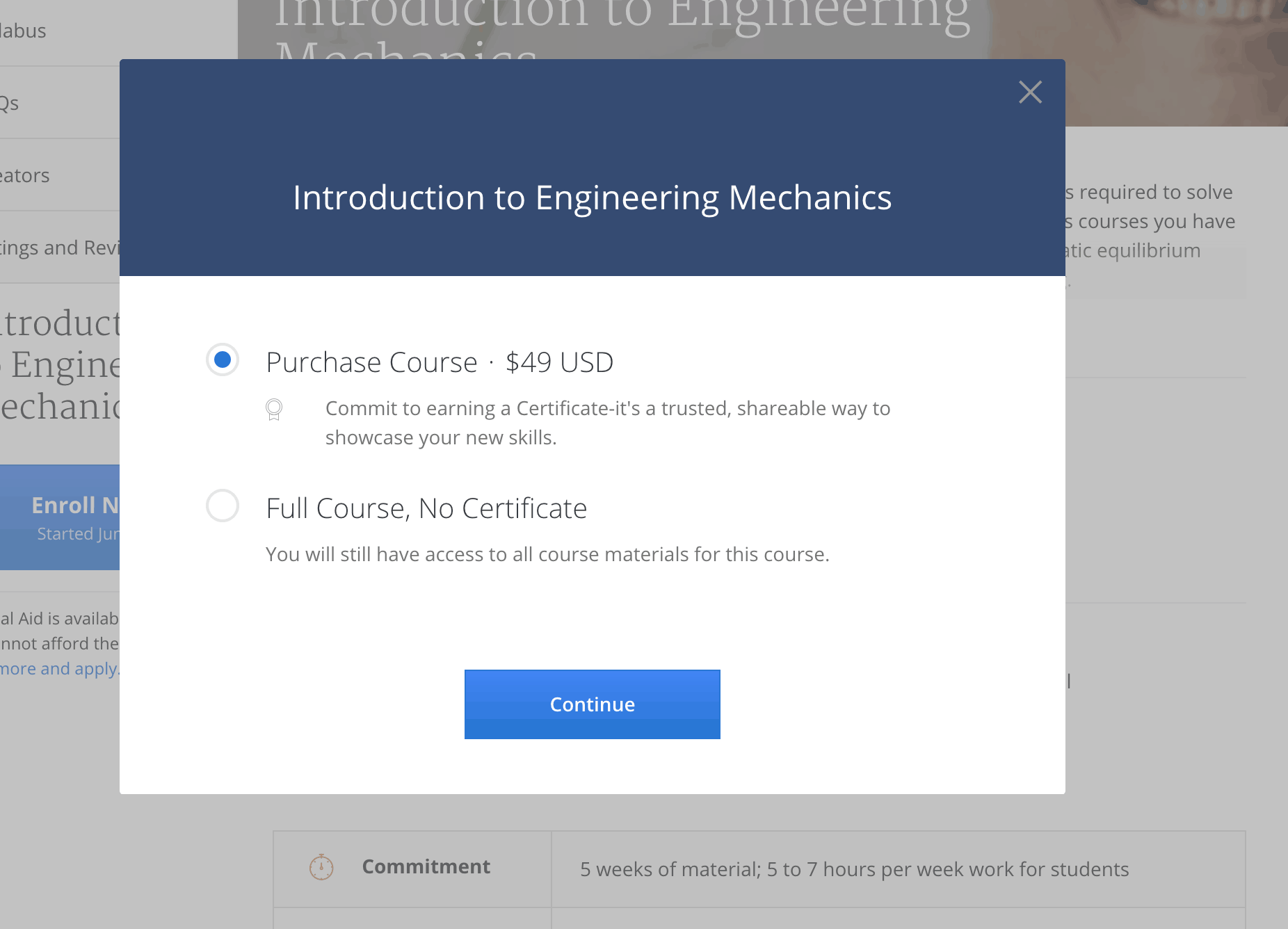 Coursera Full Course, No Certificate
