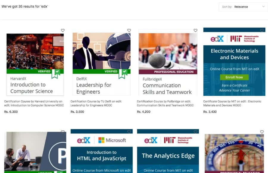 edx Snapdeal Partnership - Class Central's MOOC Report