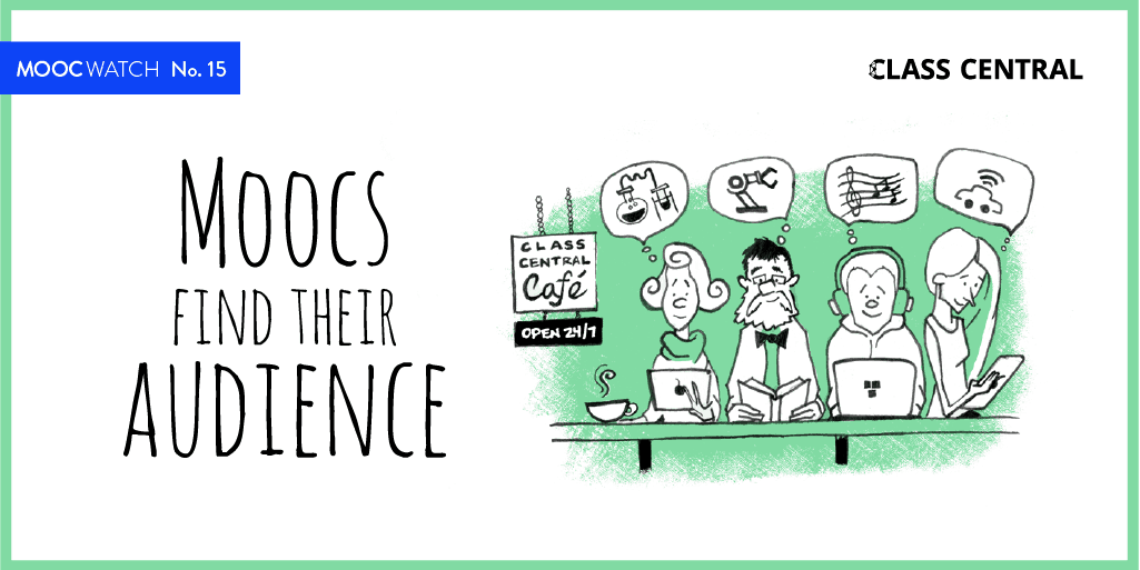 MOOCWatch #15 - MOOCs Find Their Audience