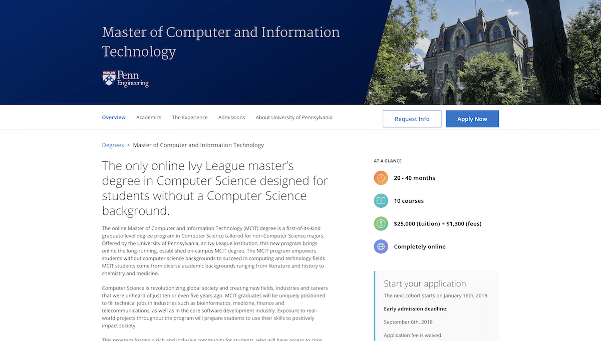 An Ivy League MOOC-based Computer Science Degree for Non-CS Majors