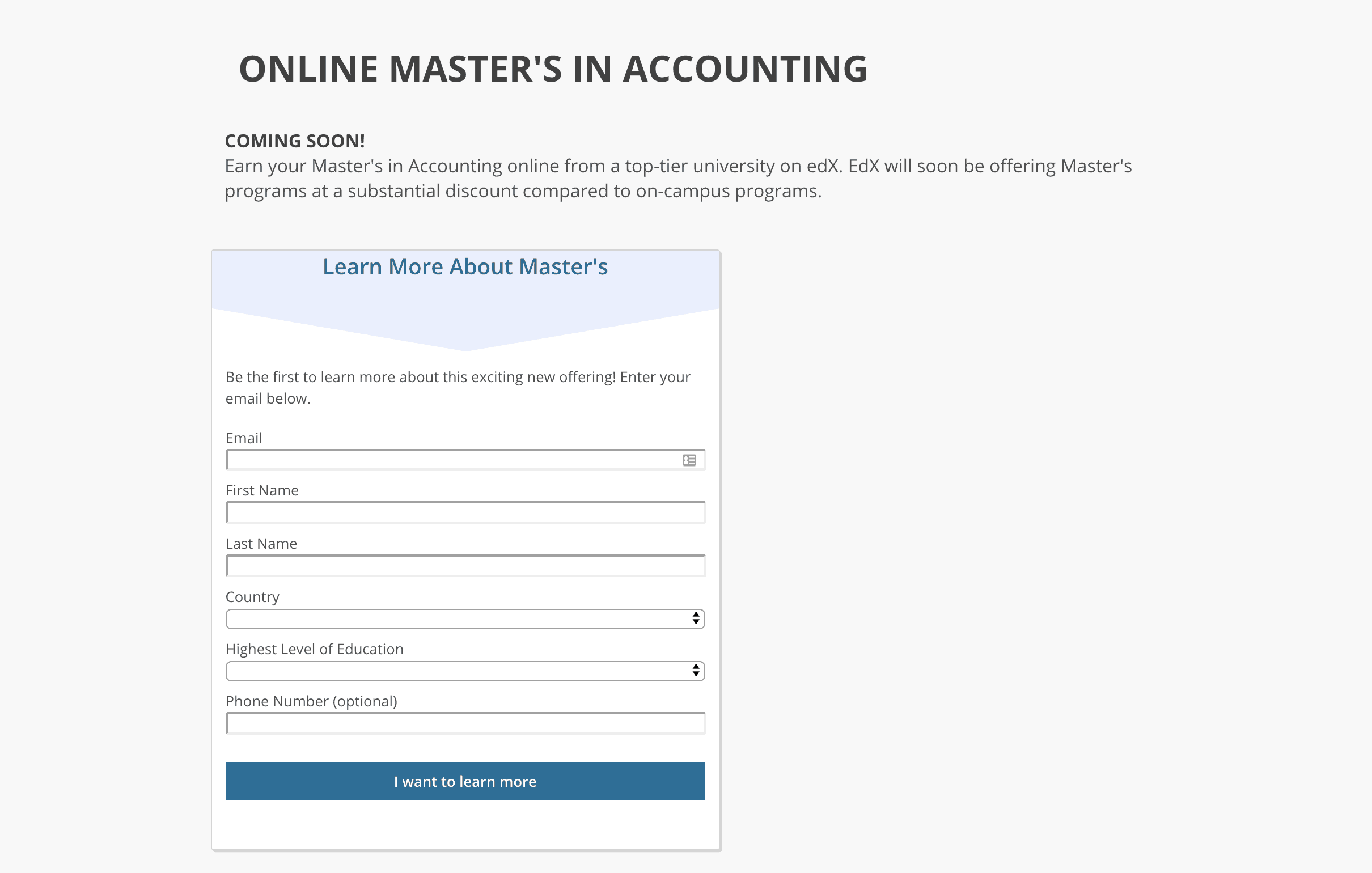 Top Online Masters Programs >> Edx Lists 13 Upcoming Online Masters Degree Program Class