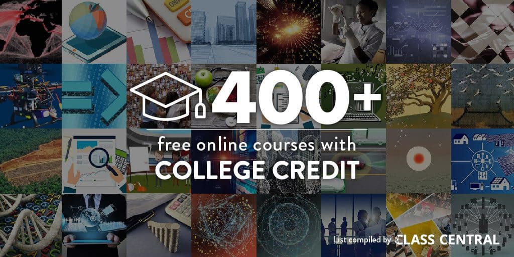 400+ Free Online Courses with College Credit
