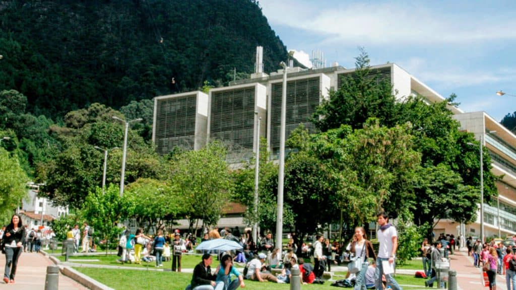 University of Los Andes with students