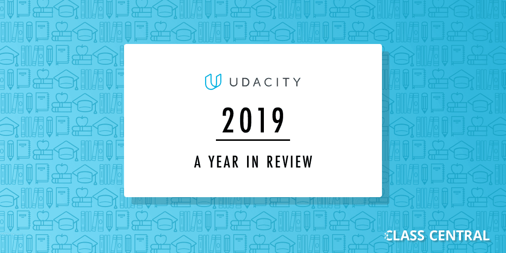 Udacity Year in Review banner