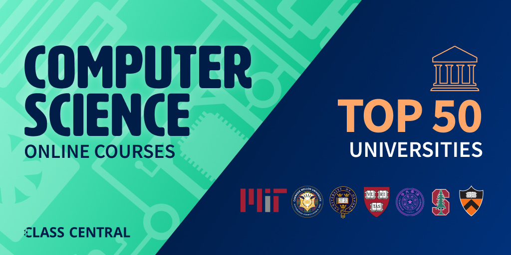 Computer Science Courses from the Top 50 Universities