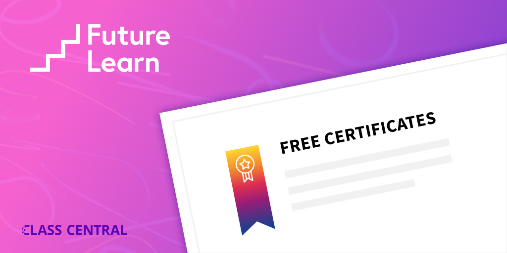 Future Learn Free Certificates