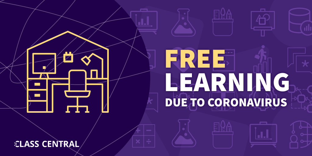 Free Learning Due to Coronavirus