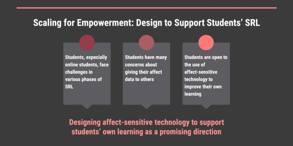 Leveraging affect sensors to support students' learning while being mindful of their concerns
