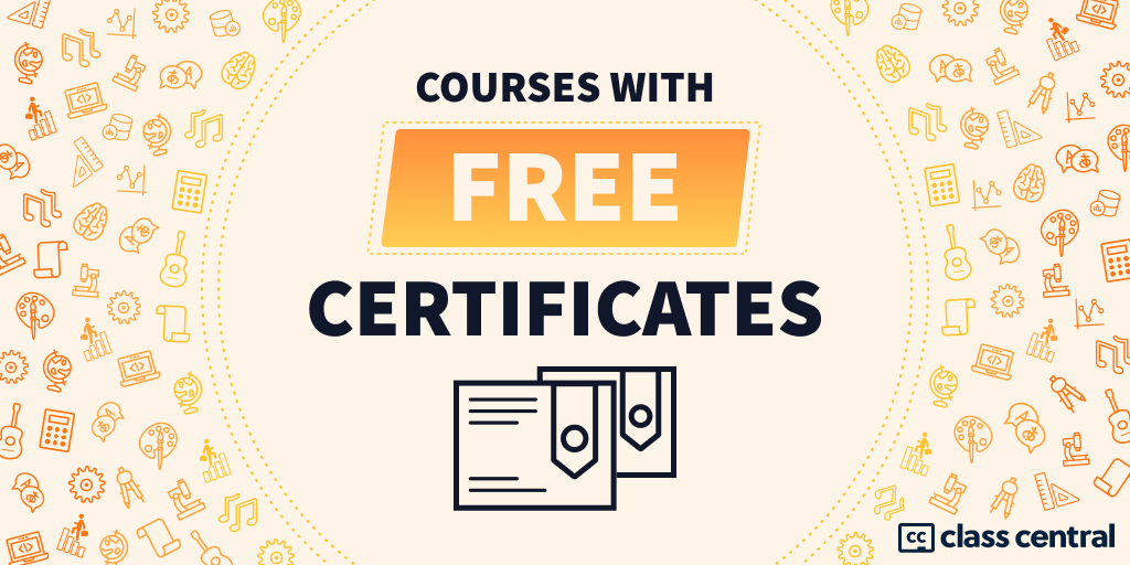 Courses with Free Certificates